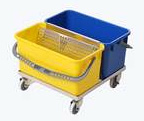 Slim T Double Bucket Cart